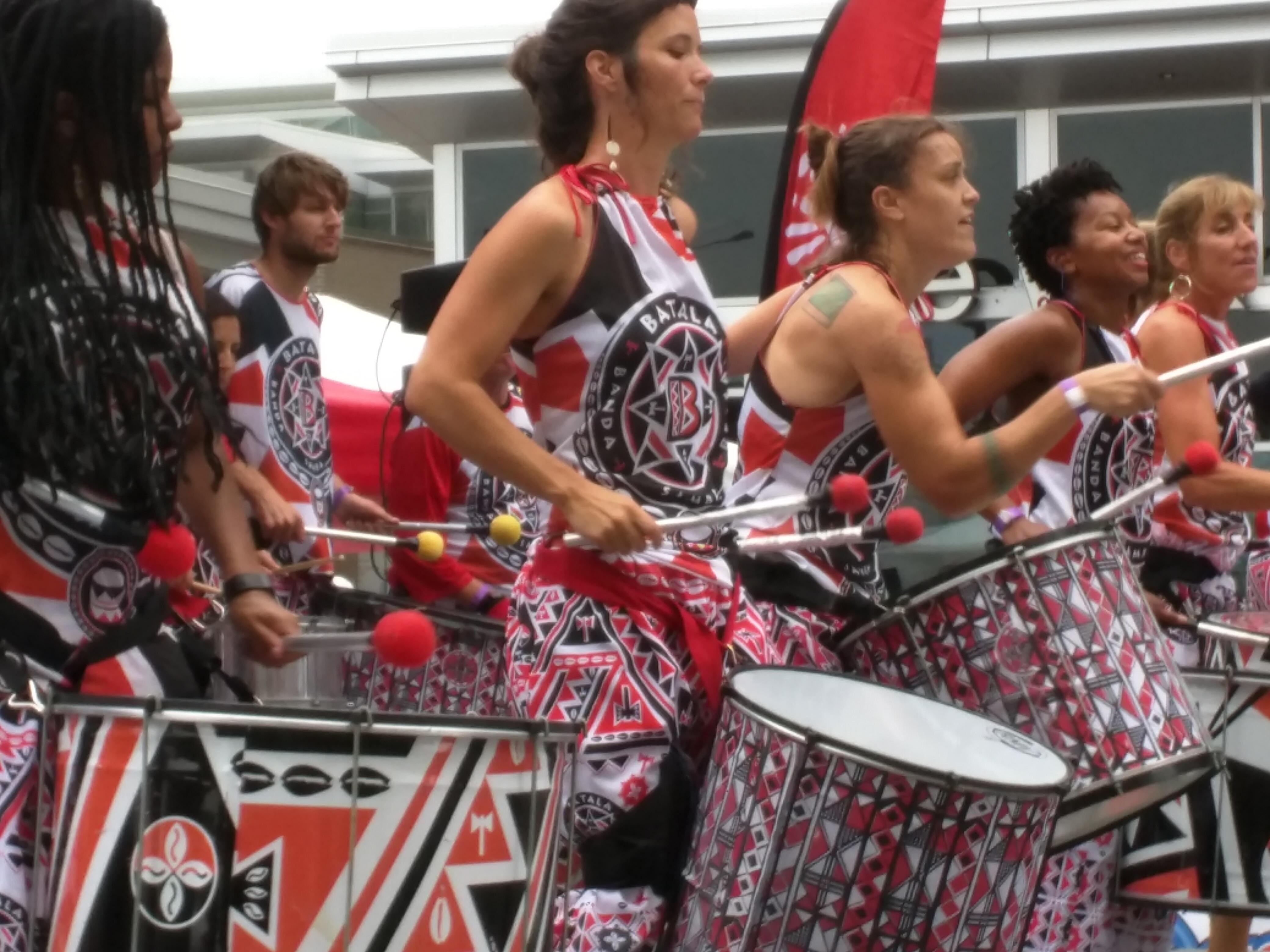 Batala Durham @ Fiesta del Pueblo - Sept 25th, 2016